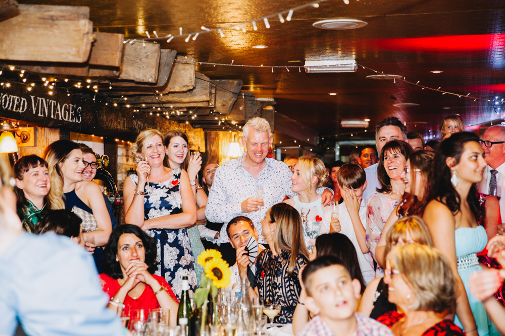Davy's wine vault Wedding photographer