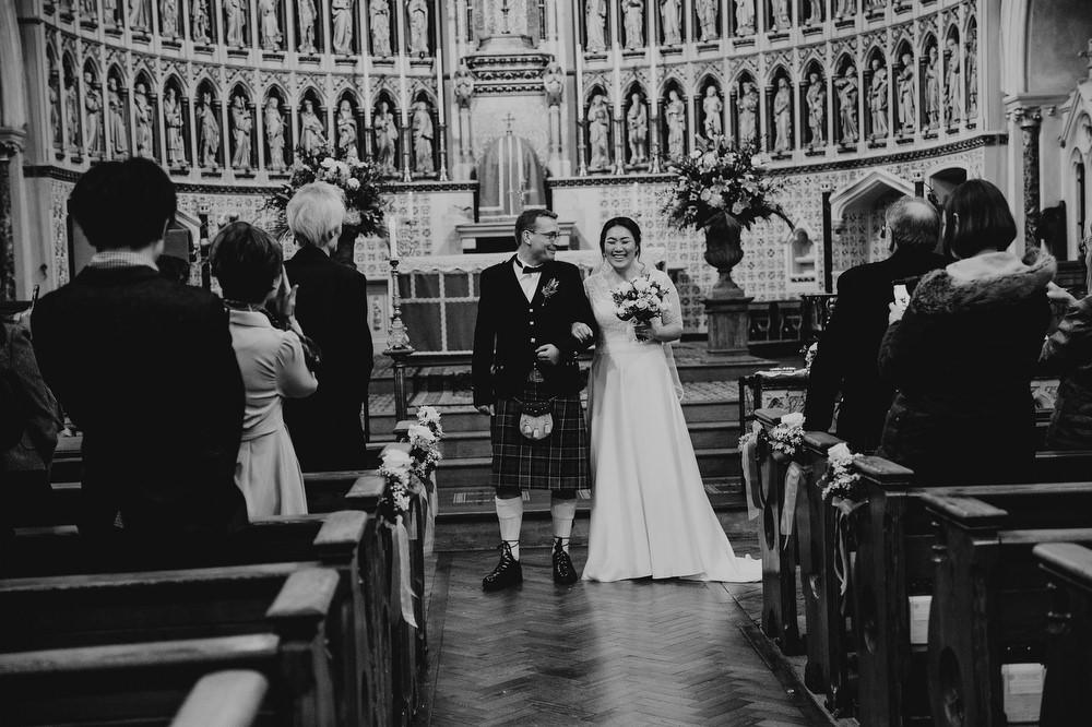St Aloysius Catholic Church Wedding Photographer, Lucy Judson Photography